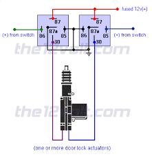 locks actuators reverse polarity positive switch trigger relay diagrams door locks actuators reverse polarity positive switch trigger
