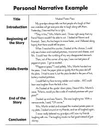 developing a thesis for a narrative essay structure of a personal narrative essay