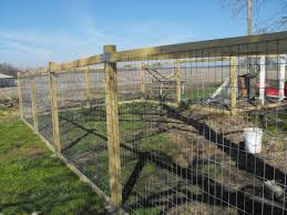2x4 welded wire fence. Welded Wire On 4x4\ 2x4 Fence W