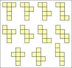 Printable Cube Cube Nets Printable Resource 2 Nets For A Cube Templates Net