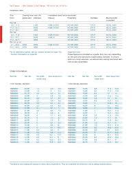 Oetiker Clamp Chart Oetiker Catalog