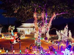 christmas house lighting ideas. roof display christmas house lighting ideas