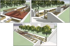 Small Picture Garden Design School Modern Garden Design With Waterfall Fountan