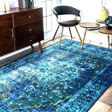 blue area rugs 6x9 target under solid rug
