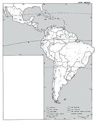 Online Regional Outline Maps Available Blank Map Of Central And