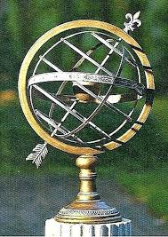 armillary sphere garden use large on pedestal for brass sundial armillary sphere garden