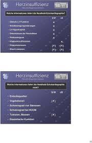 echokardiographie diastolische dysfunktion