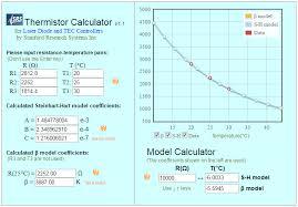 Prototypal 10k Ohm Temperature Sensor Chart 10k Thermistor