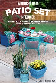 wrought iron wicker outdoor furniture white. how to paint patio furniture with chalk wrought iron wicker outdoor white i