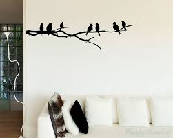 branch wall decal with birds