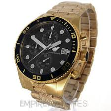 new mens emporio armani gold chronograph watch ar5857 rrp image is loading new mens emporio armani gold chronograph watch ar5857