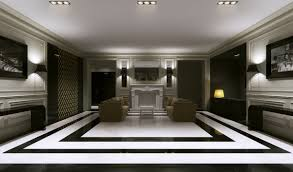 elegant furniture and lighting. elegant hotel lobby design with recessed ceiling light and white fireplace ideas furniture residence lighting r