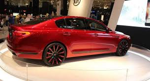 kia k900 2015 red. Contemporary K900 KIA K900 U0027King James Editionu0027 Posts Up At 2015 Cleveland Auto Show   Carscoops Throughout Kia Red