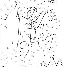 Dot To Dot Coloring Pages Color By Dots Coloring Pages Color Dots