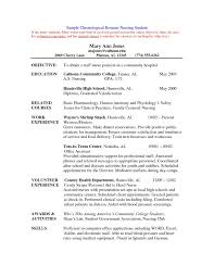 Entry Level Nursing Resume Awesome New Grad Rn Resume Best Sample