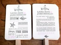 diy wedding program fan kit order of service fan wedding program fans kraft paper wedding program