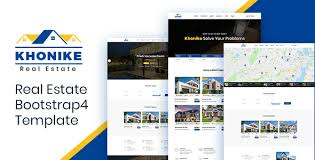 Khonike Real Estate Bootstrap 4 Template
