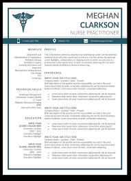 Modern Resume Formats For Vicep Residents 10 Premium Nurse Practitioner Resume Templates Sample