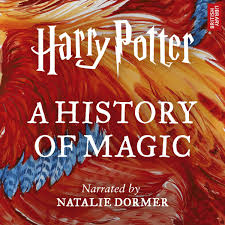 this cover image released by audible shows harry potter a history of magic