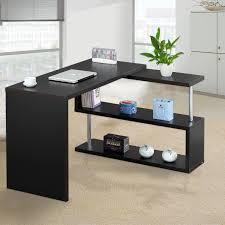 image corner computer. L-Shaped Corner Computer Desk PC Office Table Workstation With Shelves 192cm   EBay Image