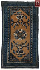 antique chinese area rug bronze blue 021372