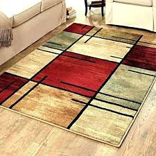 black and brown area rugs modern red area rugs black and rug medium size of living