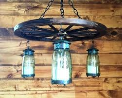 mason chandelier mason jar lighting diy chandelier made mason jars wood plank