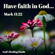 Mark 11:22 KJV - God's Healing Hands | Facebook