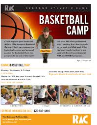 Sports Camp Flyer Template | Best & Professional Templates