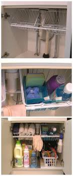 Under Kitchen Sink Organizing 17 Best Ideas About Organize Under Sink On Pinterest Kitchen