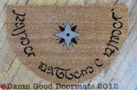 Elvish doormat XL rectangular | Damn Good Doormats