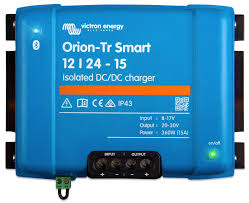 <b>DC</b>-<b>DC</b> chargers, Victron introduces Orion TR <b>Smart</b> series - Panbo