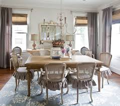 french inspired dining table. french country dining room inspired table