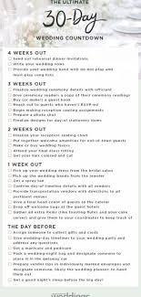 Martha Stewart Weddings Has Created A Printable Checklist