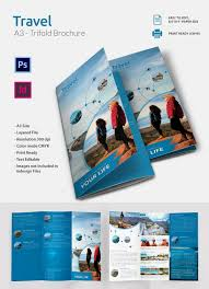 Free Tri Fold Brochure Templates Word Fascinating Travel Brochure Word Template Free Portalbertbedandbreakfast