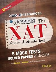 xat exam preparation books study material  jabbing the xat xavier aptitude test book mock tests solved papers by rk jha
