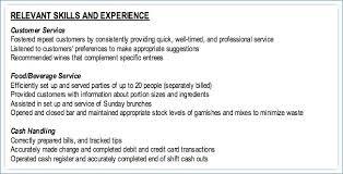 Relevant Skills Resume Igniteresumes Com