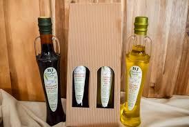 extra virgin olive oil balsamic vinegar gift box