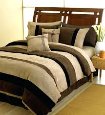 plum jacaranda striped bedding microsuede 6pc bed in a bag only 65 60blue brown duvet cover