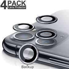 [4 Pack] iPhone 11 Pro Max <b>Camera Lens Screen Protector</b> ...