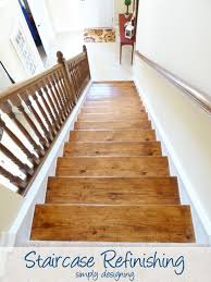 Refinish Stained Wood Staircase Make Over Part 6 The Finishing Touches