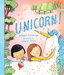 i would like to think it es from the heart but i imagine someone perhaps a publisher whispered to maggie hutchins that unicorns