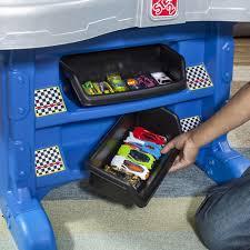 Step2 Hot Wheels Road Rally Raceway storage