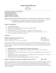 Military Resume Examples For Civilian Nfcnbarroom Com