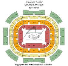 Mizzou Arena Concert Seating Chart Hearnes Center Tickets In Columbia Missouri Hearnes Center