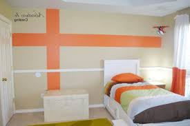 kids bedroom paint designs. m : kids bedroom accent wall paint ideas white flowers decal square wood picture art beige varnished sideboard bedside lamp wooden painted designs