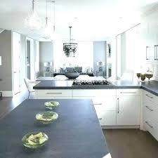 concrete kitchen countertops with white cabinets kitchen