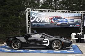Check Out The Powerful Black 2017 Ford GT Heritage Edition - Maxim