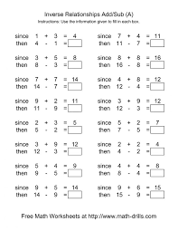 Addition And Subtraction Worksheets Grade Fun 1st First Free Mixed ...