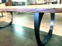 full size of reclaimed wood dining table with metal legs uk wooden trestle solid steel leg